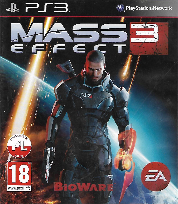 MASS EFFECT 3 (PS3 - bazar)