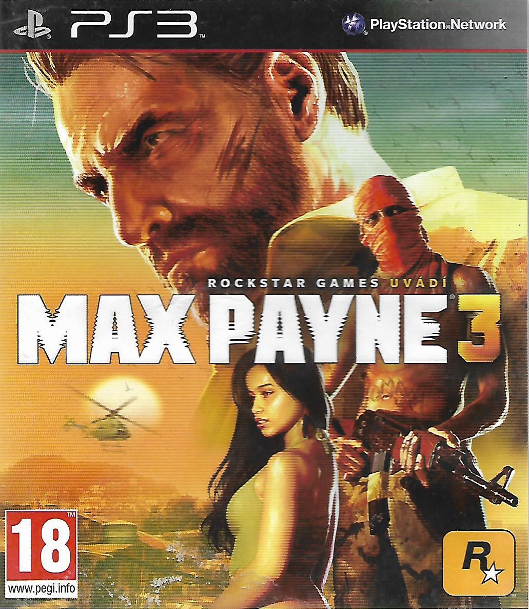 MAX PAYNE 3 (PS3 - bazar)