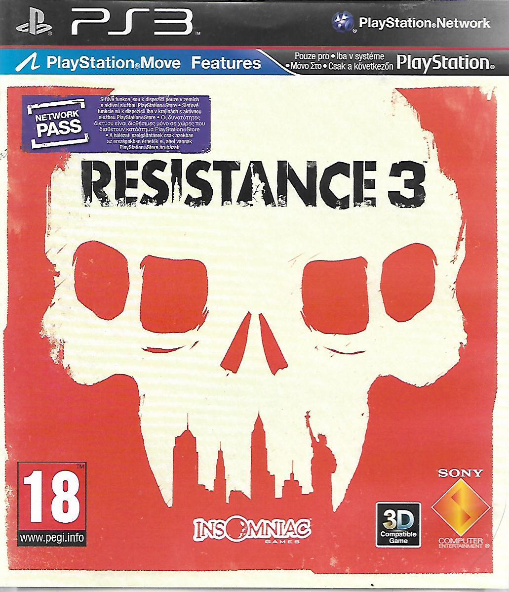 RESISTANCE 3 (PS3 - bazar)