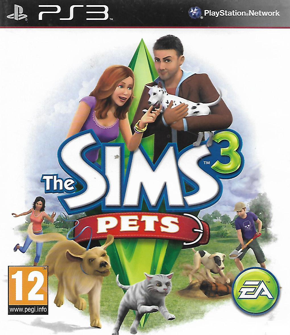 THE SIMS 3 - PETS (PS3 - bazar)