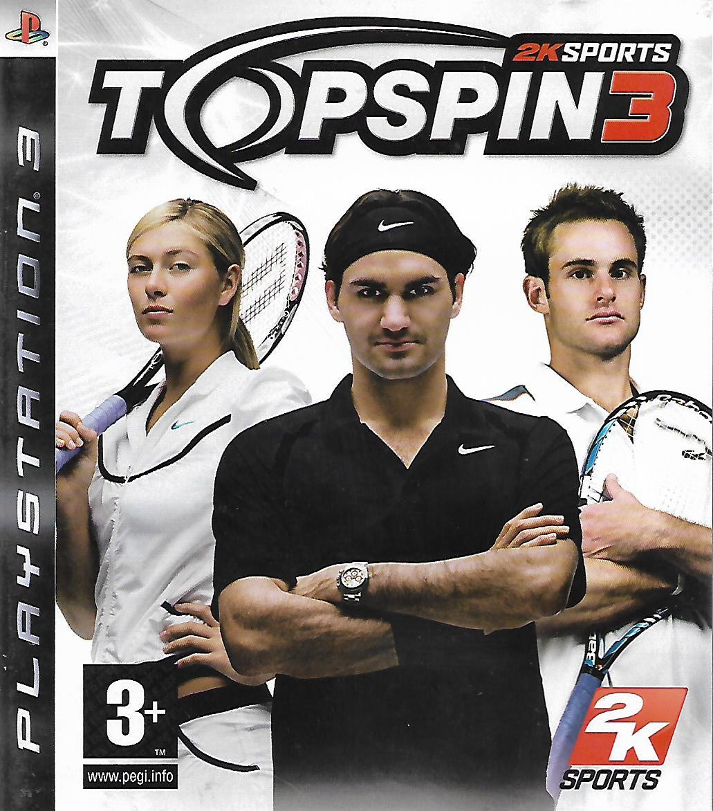 TOP SPIN 3 (PS3 - bazar)