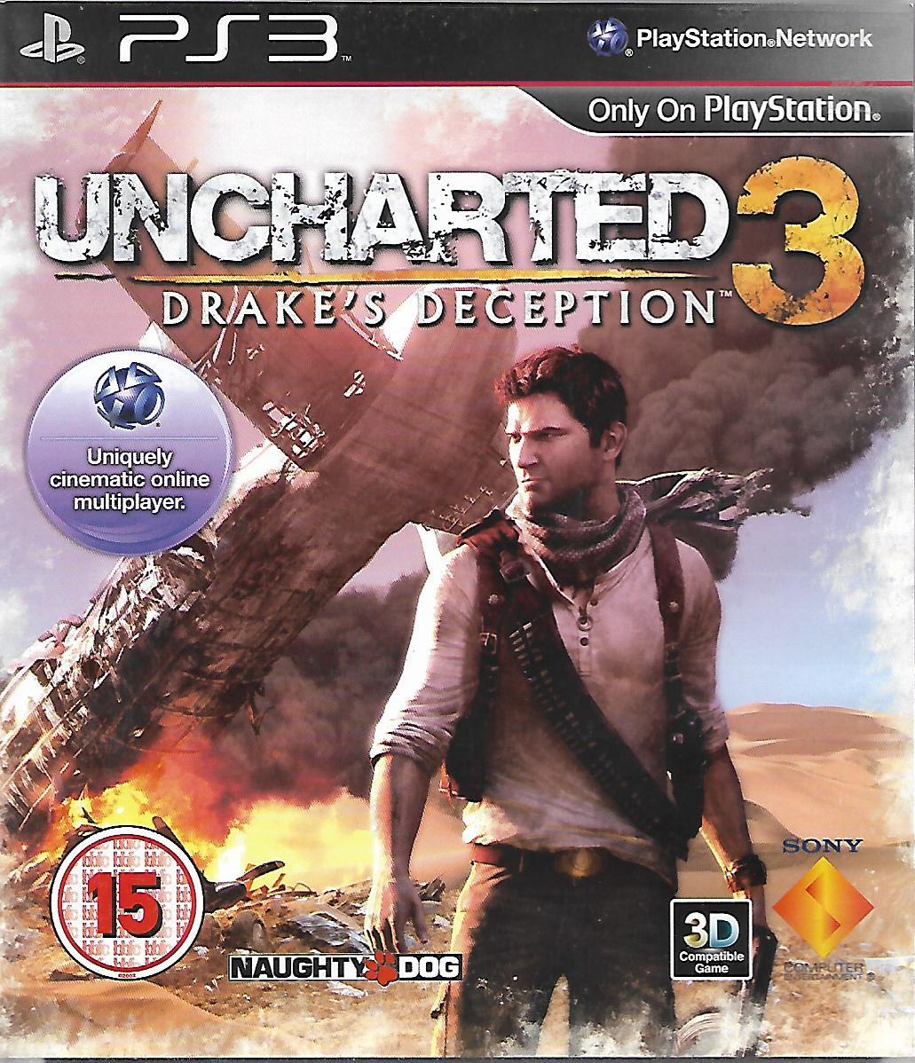 UNCHARTED 3 - DRAKE'S DECEPTION (PS3 - bazar)