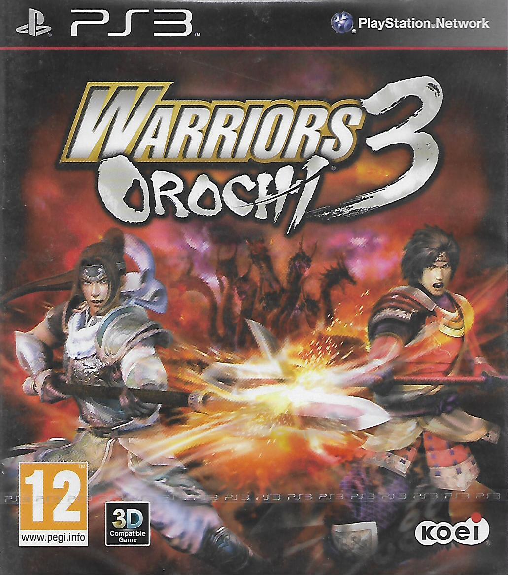WARRIORS OROCHI 3 (PS3 - bazar)