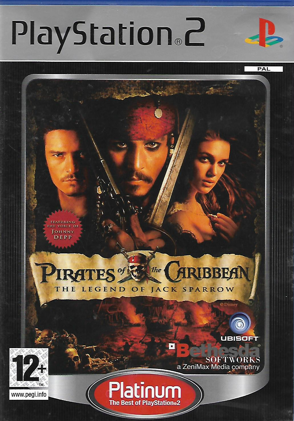 PIRATES OF THE CARIBBEAN - THE LEGEND OF JACK SPARROW (PS2 - bazar)