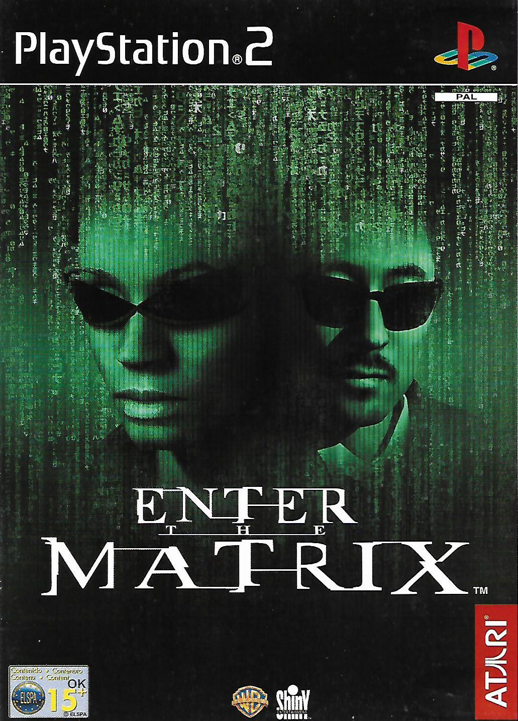 ENTER THE MATRIX (PS2 - bazar)