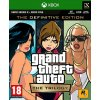 GRAND THEFT AUTO THE TRILOGY THE DEFINITIVE EDITION (XBOX ONE NOVÁ)