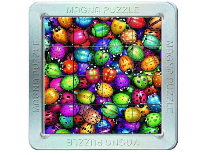 3D Magnetické puzzle