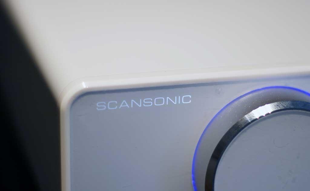 Scansonic A200 - malý, stylový, digitální Hi-Fi zesilovač