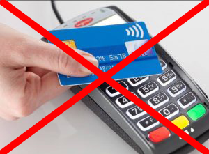 Platba pouze v hotovosti, dobírkou nebo převodem ?? Proč NE platebním kartám ??