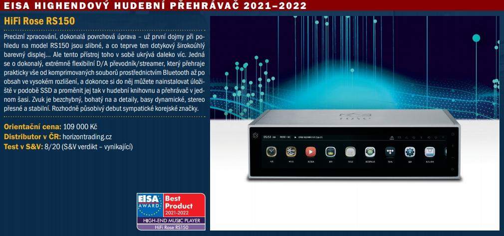 ROSE RS-150 B - EISA 2021-2022