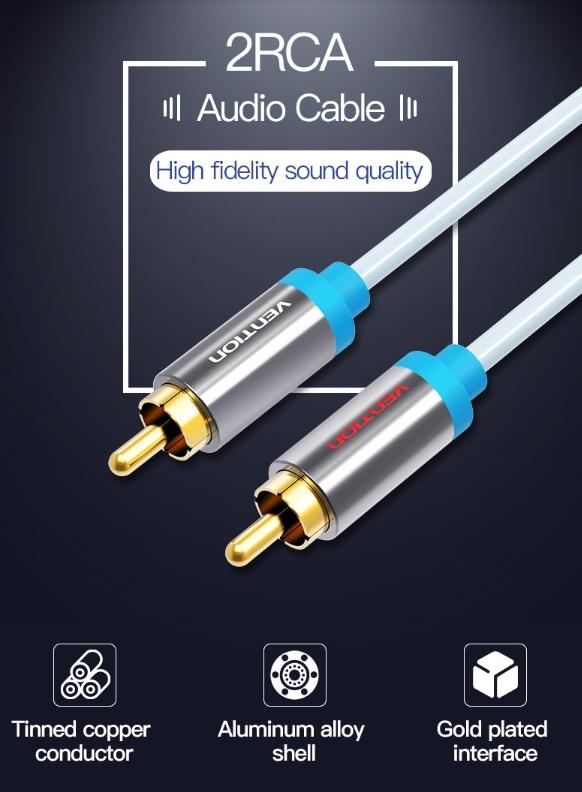 Kvalitní RCA propojovací kabel za super cenu skladem.