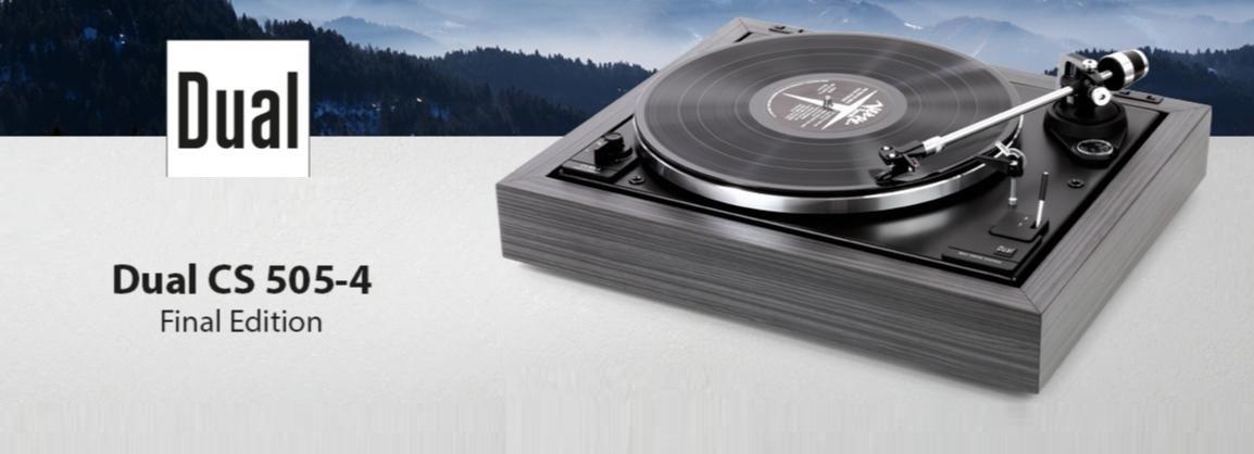 DUAL CS 505-4 Final Edition v limitované edici 100 kusů