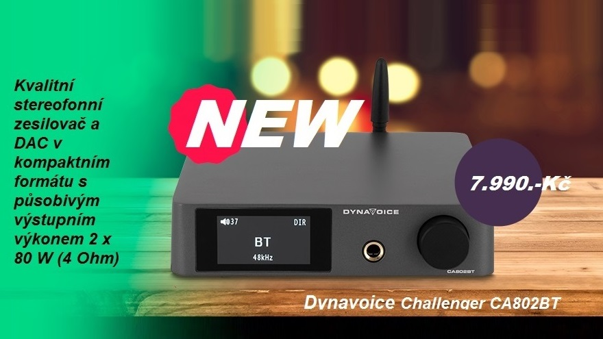 Dynavoice Challenger CA802BT