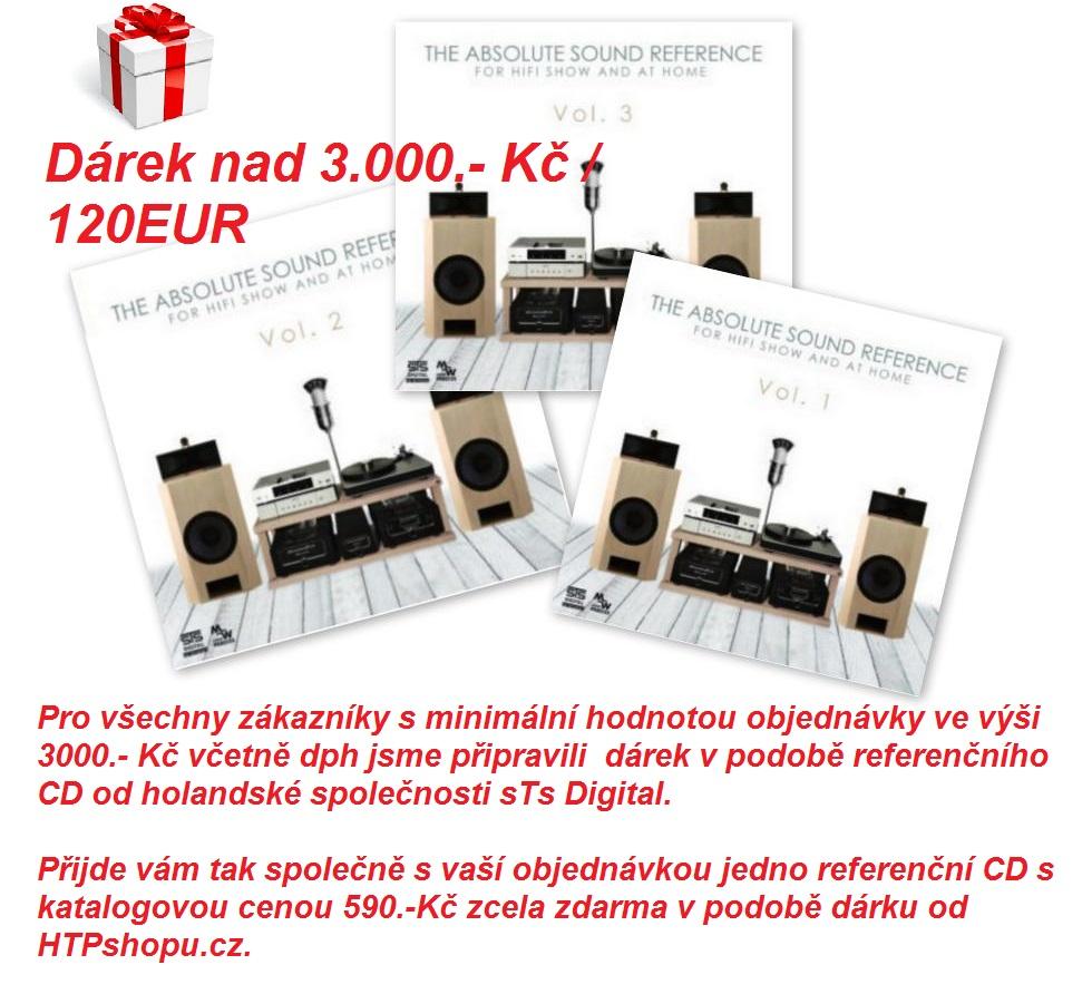 Ke každé objednávce nad 3.000.-Kč referenční CD STS Digital zdarma jako dárek od www.htpshop.cz !
