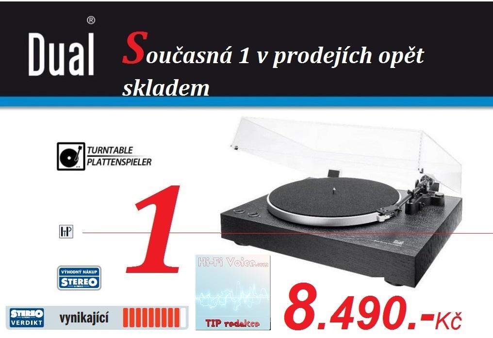 1 v prodejích gramofonů opět skladem...