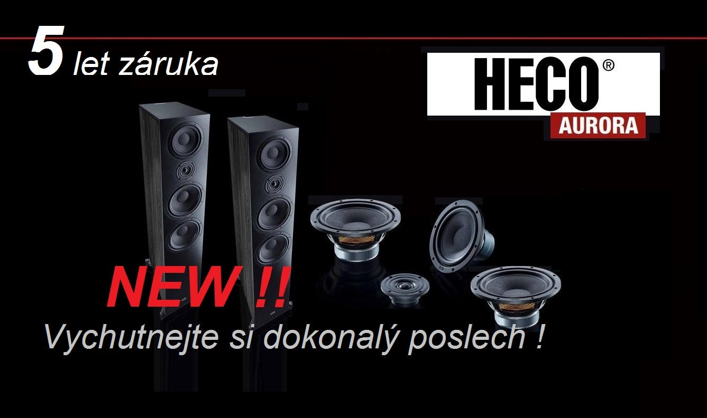 Nová řada reprosoustav: Heco Aurora na www.htpshop.cz a k poslechu...