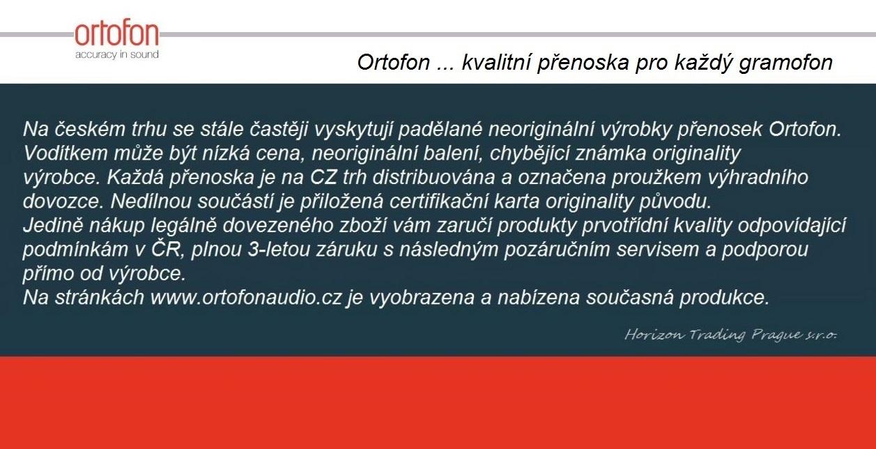 Kvalitní dánské přenosky značky Ortofon