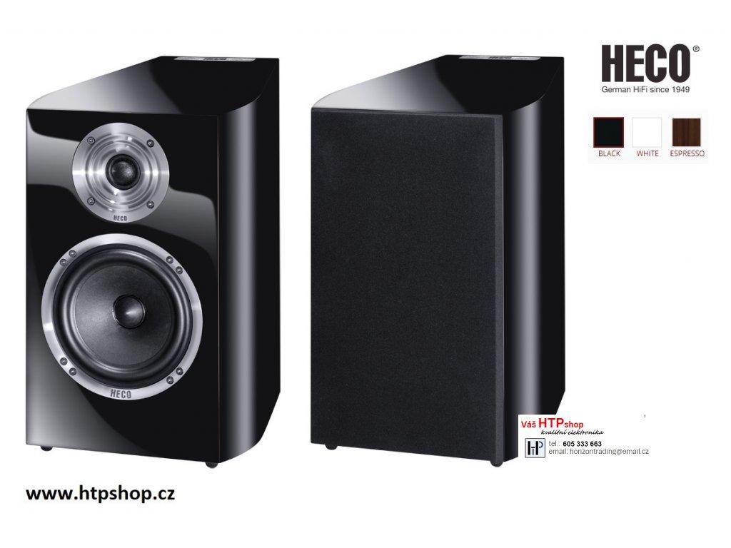 Heco Celan Revolution 3 černý klavírní lak