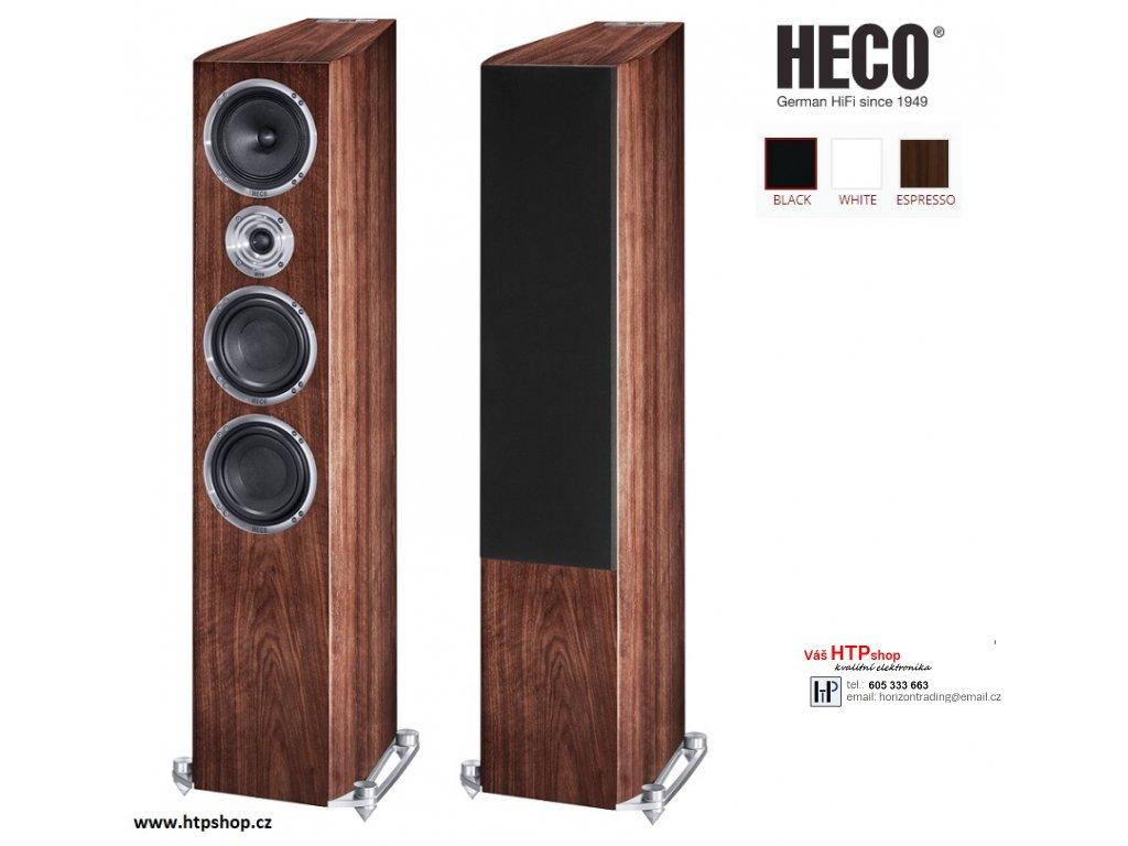 Heco Celan Revolution 7 Espresso provedení
