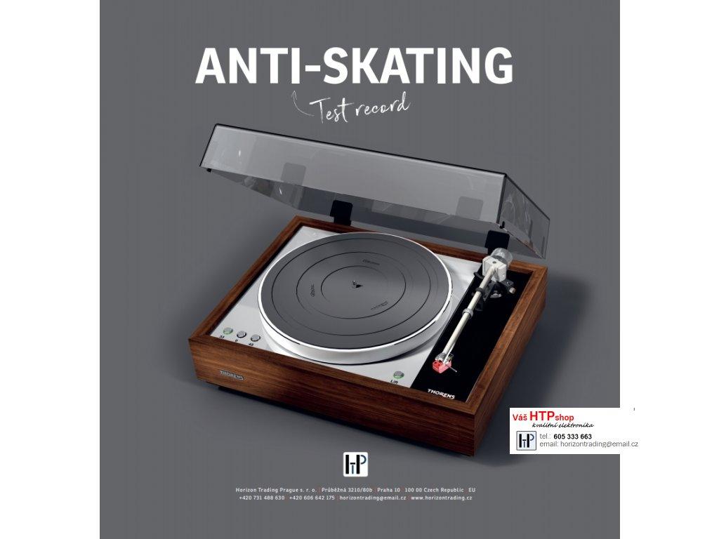 ANTI-SKATING Test record
