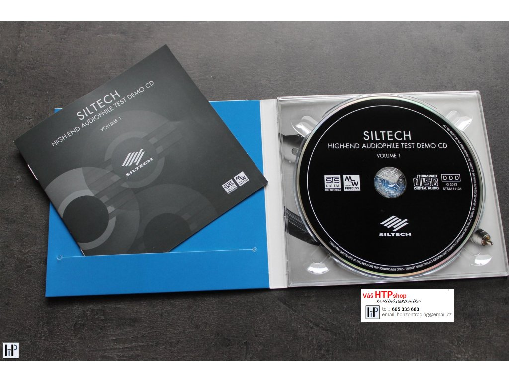 STS Digital - Siltech High End Audiophile Test CD Vol 1