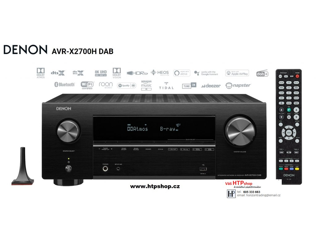 Denon AVR X2700H DAB Black