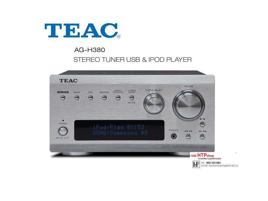 TEAC AG H380 Silver