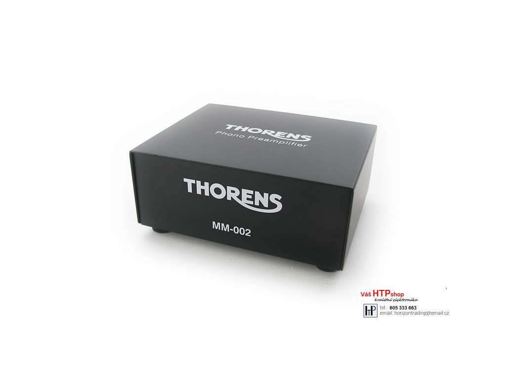 Thorens MM 002 Phono Vorverstaerker schwarz (1)