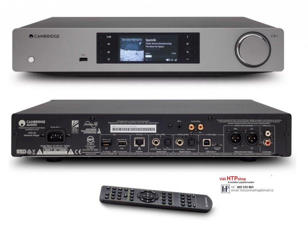 Cambridge Audio CXN v2 Lunar Grey