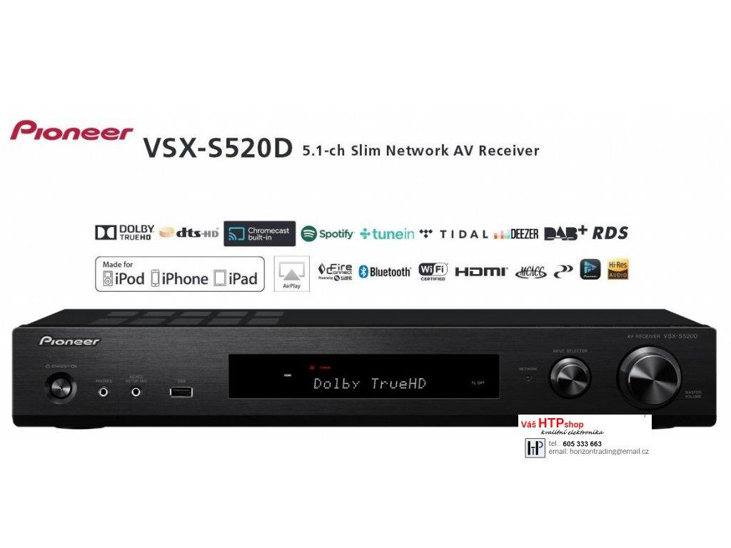 Pioneer VSX S520D Black