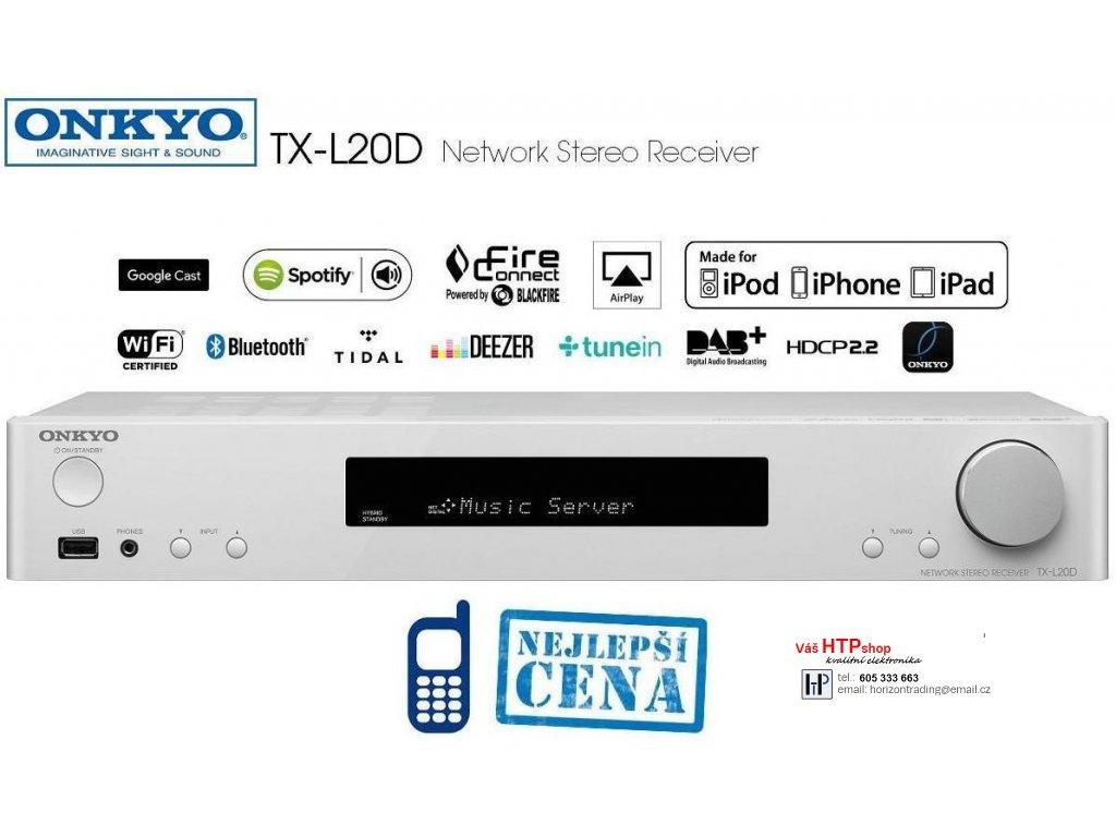 Onkyo TX L20D White