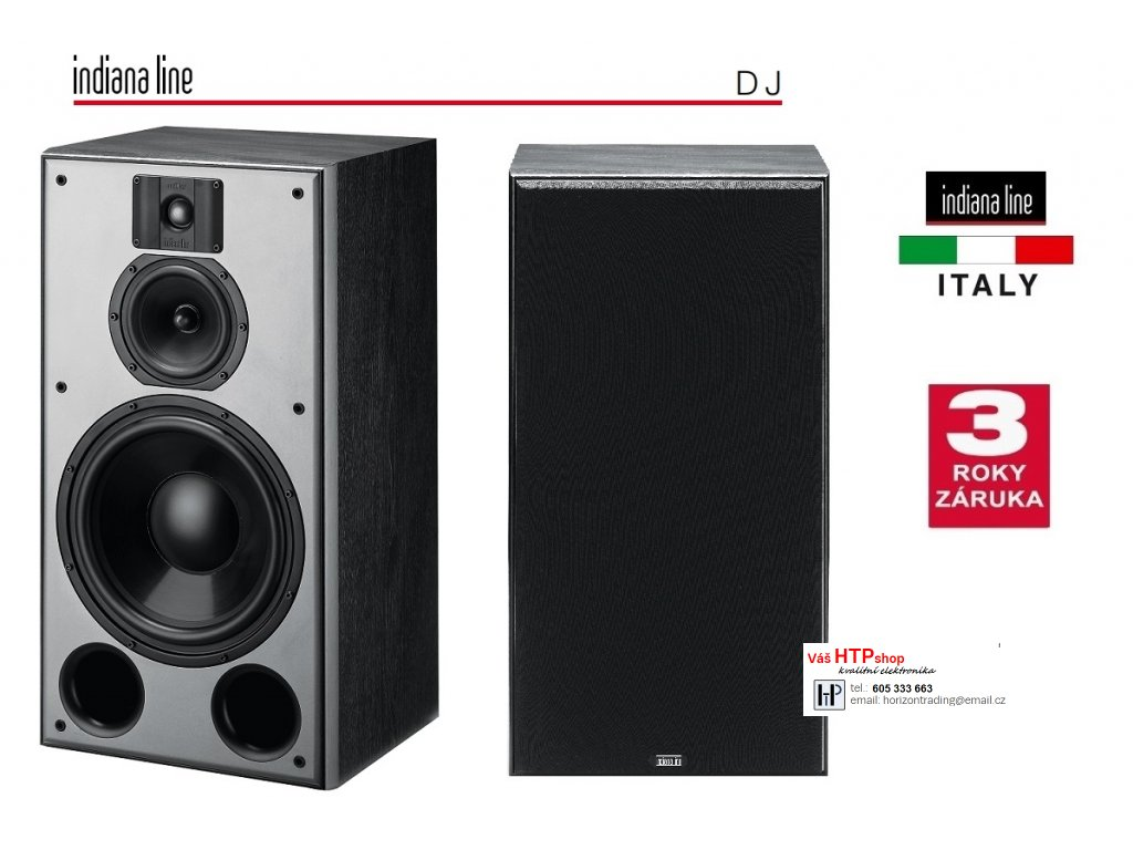 Indiana Line DJ 310 Black