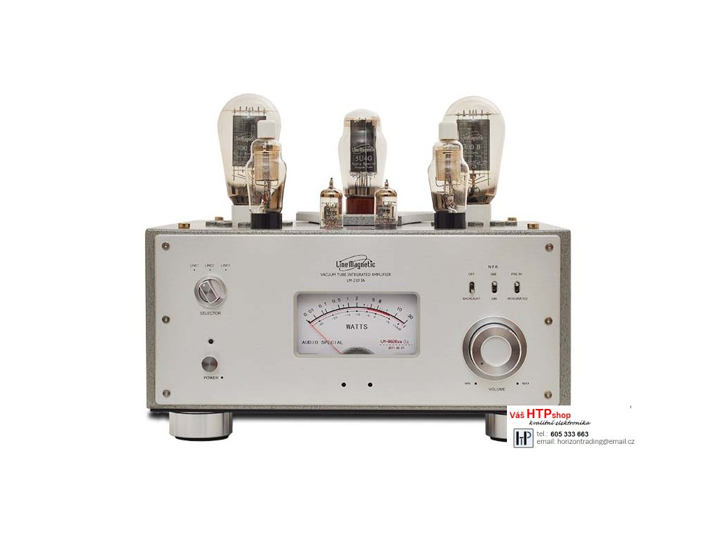 Line Magnetic LM-210IA INTEGRATED TUBE AMPLIFIER - SINGLE ENDED 300B - 2X8W 9bf9620378a
