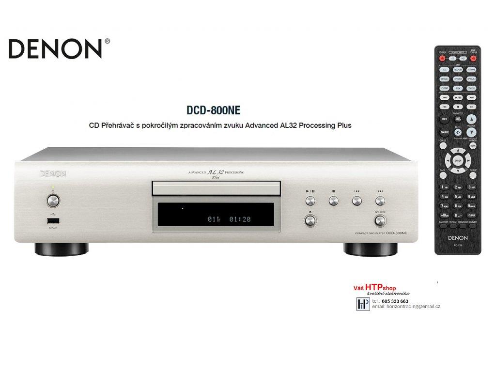Denon DCD 800NE Silver