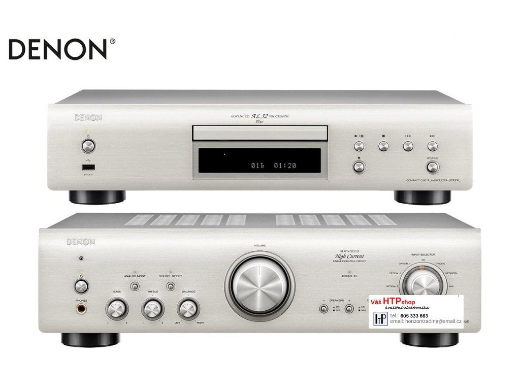 Denon DCD 800NE + Denon PMA 800NE Silver