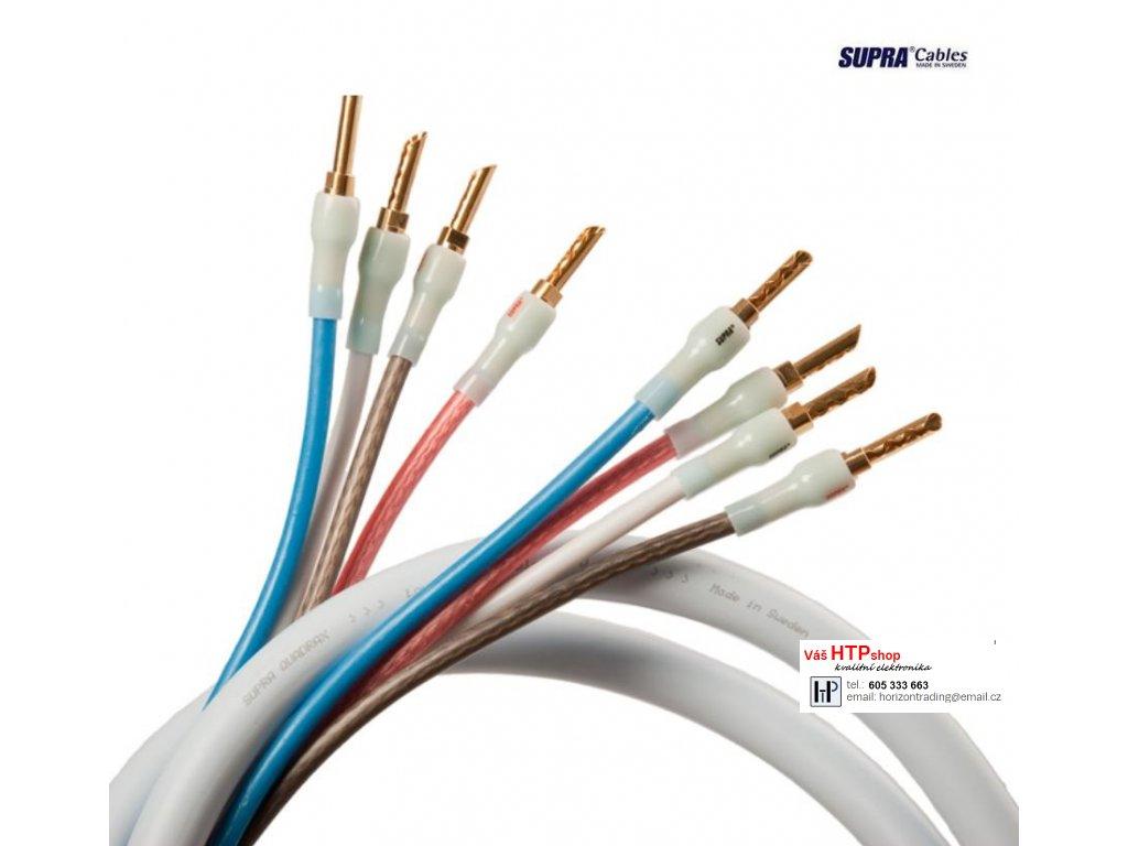 SUPRA Quadrax 4x2.0 Bi-amp CombiCon
