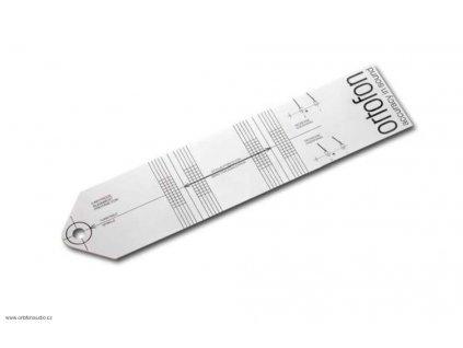 Ortofon Cartridge alignment tool - šablona