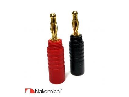 Nakamichi - Banana Plugs N0532