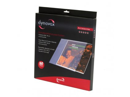 Dynavox Vinyl Record Outer  Sleeves HDPE