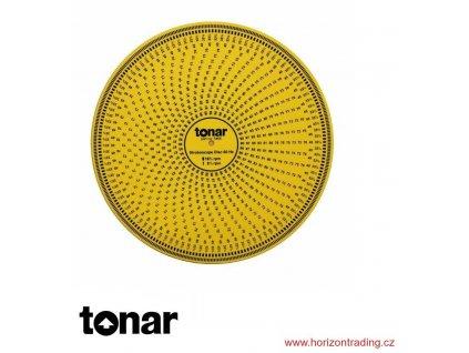 Tonar Yellow Acrylic Stroboscope Disc