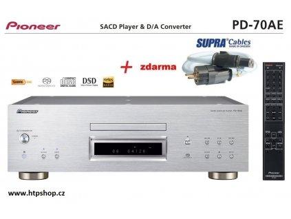 Pioneer PD 70AE stříbrné provedení