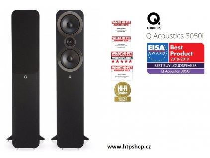 Q Acoustic 3050i černé provedení