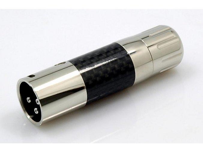 WM Audio XLR Stecker CR1 Male Carbon/Rhodium