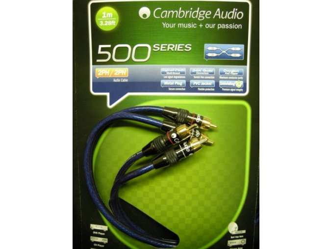 Cambridge Audio A500 RCA - 1 m