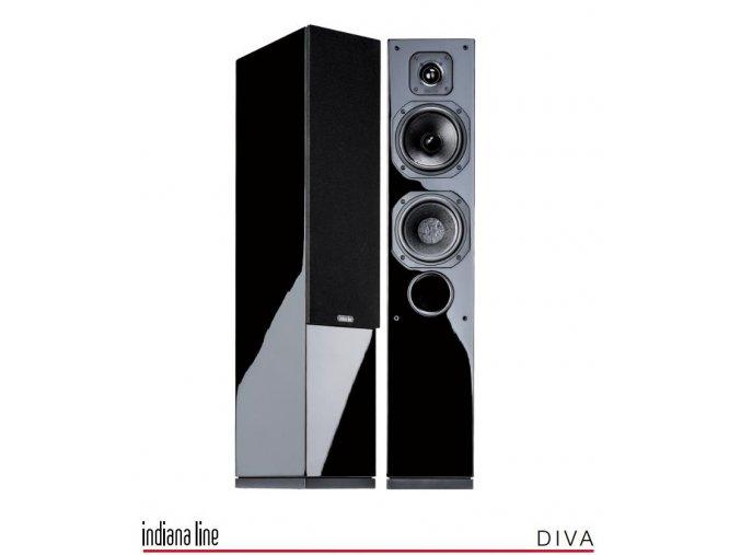 Indiana Line Diva 552  +++ LOMIC S25P1 BLACK v ceně + u nás k poslechu ve studiu +++