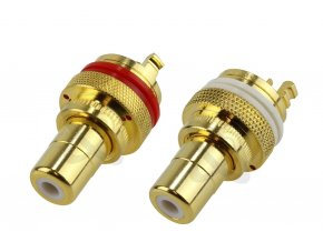elecaudio er 103 rca inlet ptfe red unit