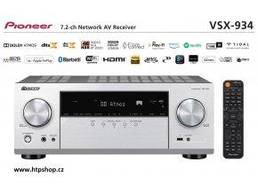Pioneer VSX 934 stříbrné provedení