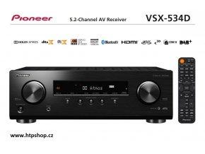 Pioneer VSX 534D černé provedení