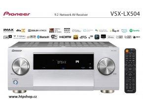 Pioneer VSX LX504 stříbrné provedení