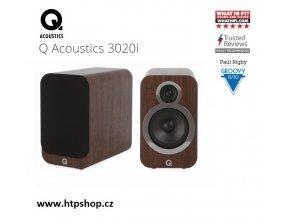QAcoustics 3020i ořech
